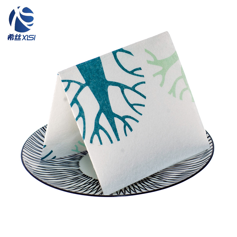 Custom printed cleaning cloth with customize package