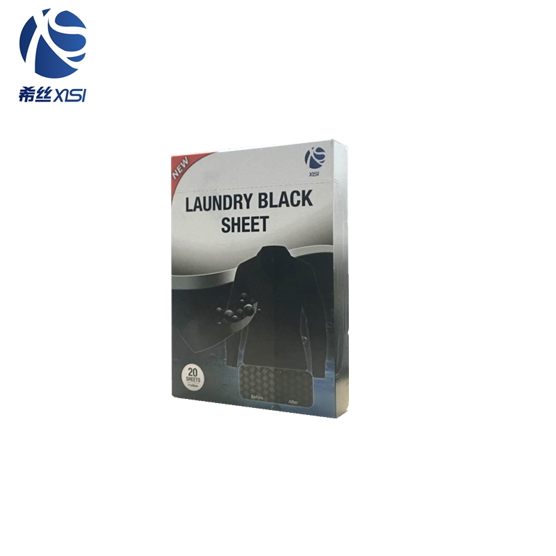 Colour restore laundry black sheet