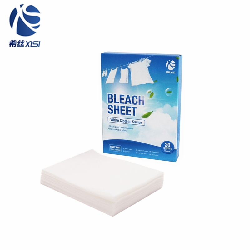 New product Laundry fabric bleach sheets